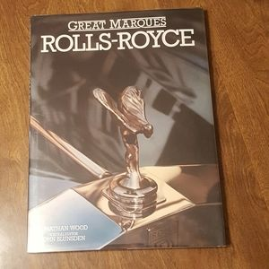 GREAT MARQUES ROLLS-ROYCE BY JONATHAN WOOD 1989